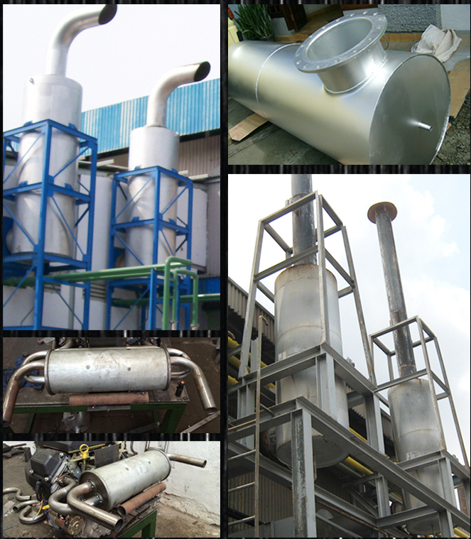 Industrial Silencer System